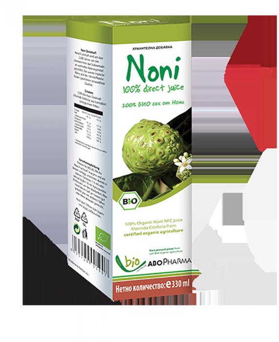 100% Био сок от Нони